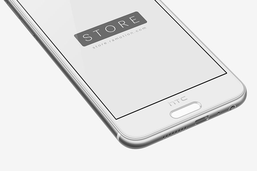 HTC One Android Mockup