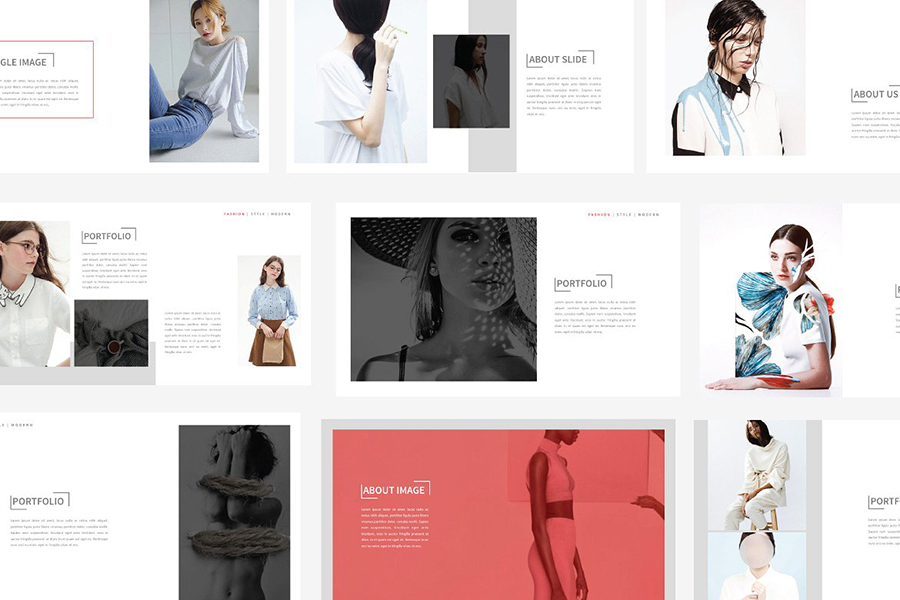 TRENDS Free Presentation Template