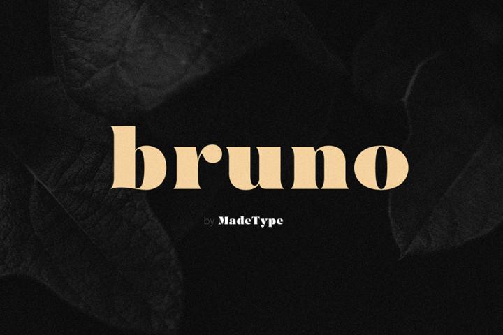 MADE Bruno Classic Serif Font