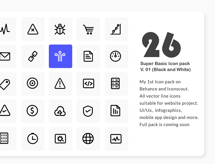 26 Free Essential SEO Icons