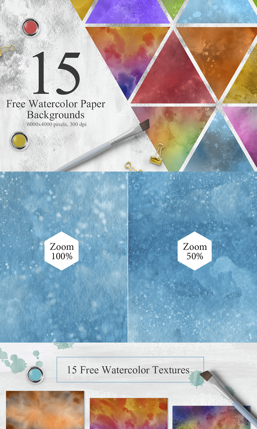 Free Watercolor Paper Background Free Design Resources