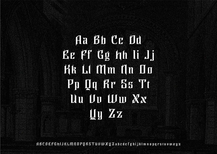 Ghillion Gothic Free Font