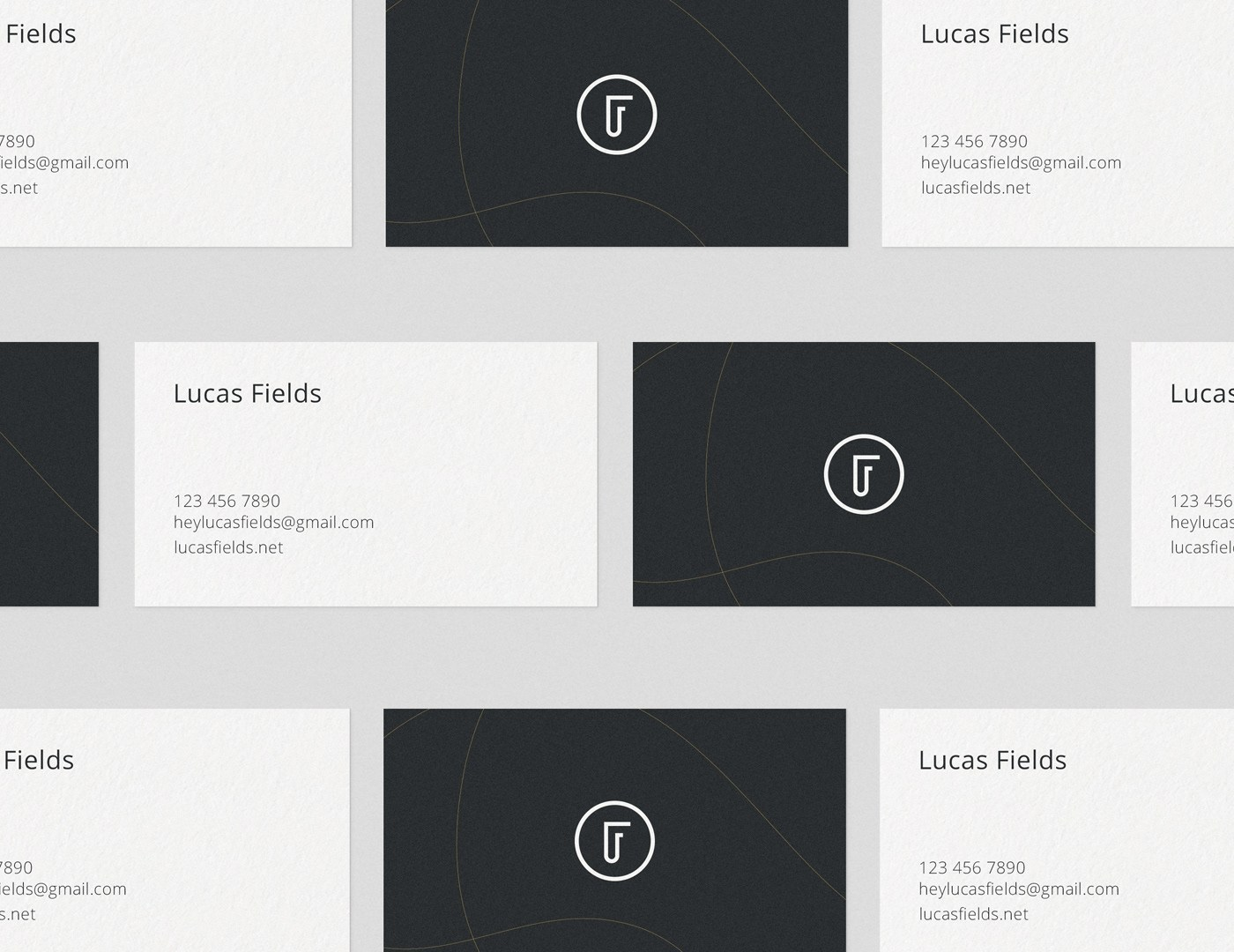 Ultra Minimalist Business Card