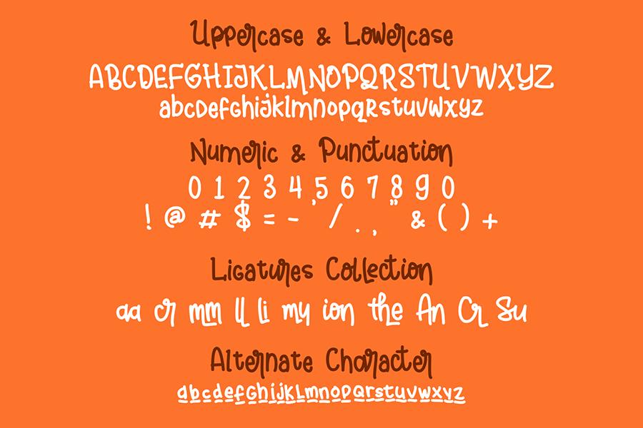 Andalusya Free Display Font