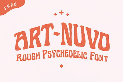 Art Nuvo Free Display Font