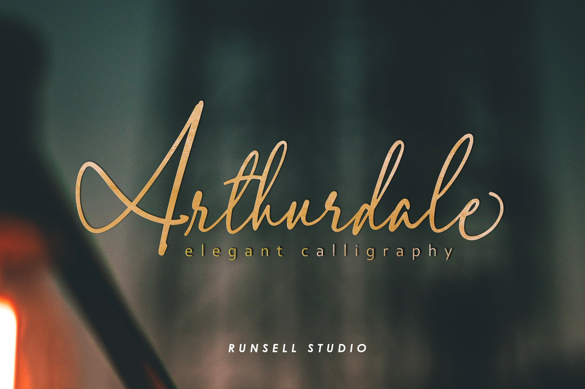Arthurdale Script Free Demo