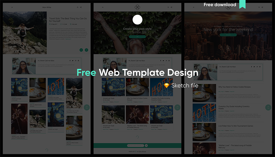 Balsam Free Web Template – Free Design Resources