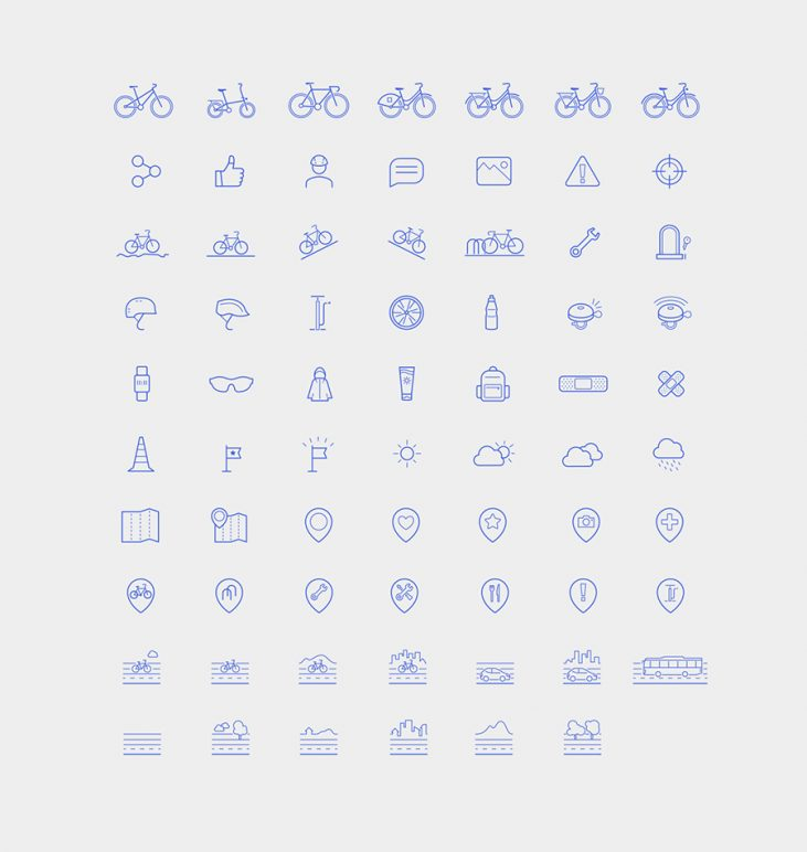 Free Bike Icon Collection