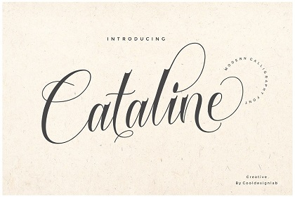 Cataline Script Font Demo