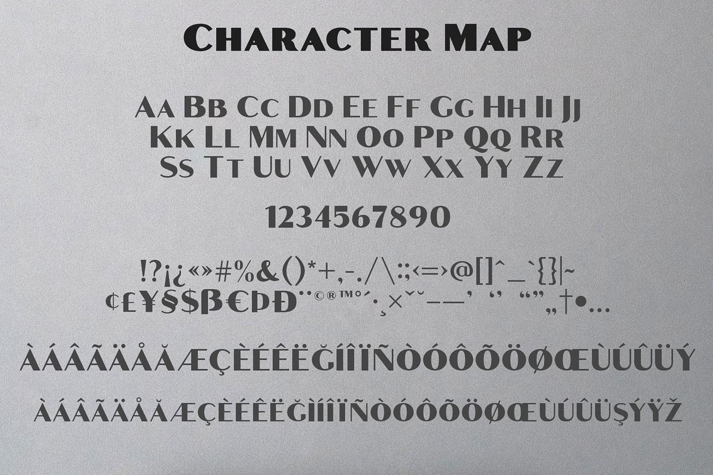 Croco Font Family Demo