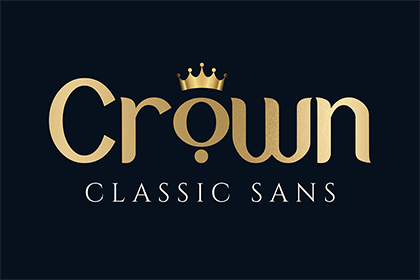 Crown Display Font Demo