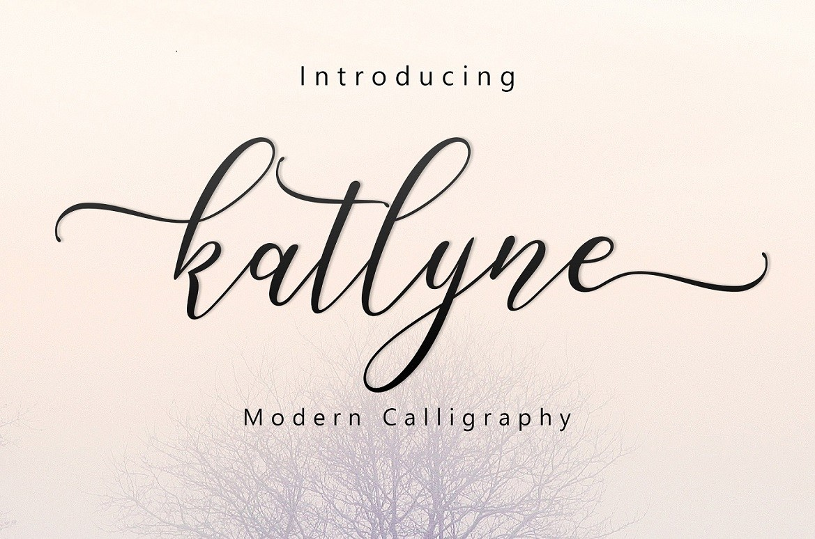 Katlyne Script Free Demo