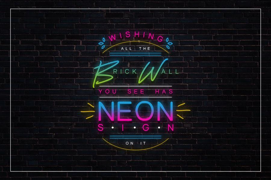 Lightsaber Neon Font Demo