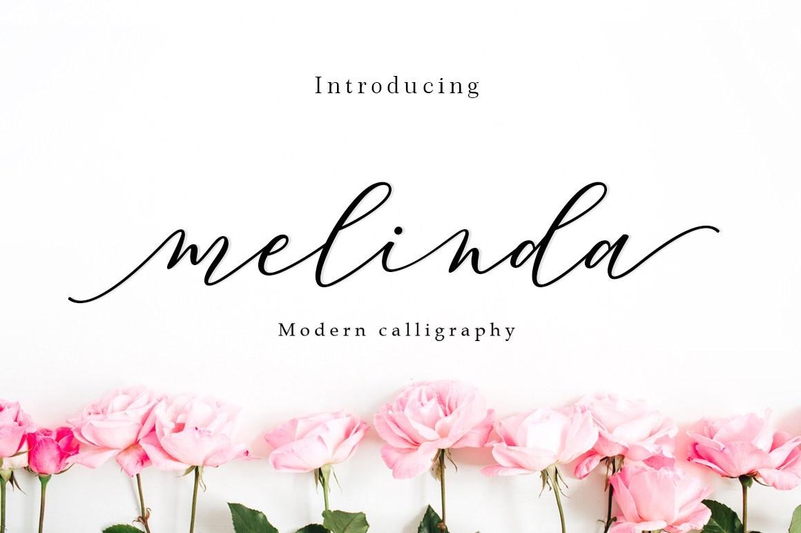 Melinda Script Free Demo