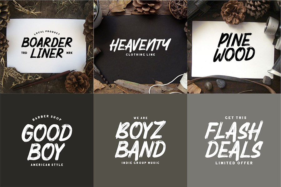Mighty Brush Font Free Demo