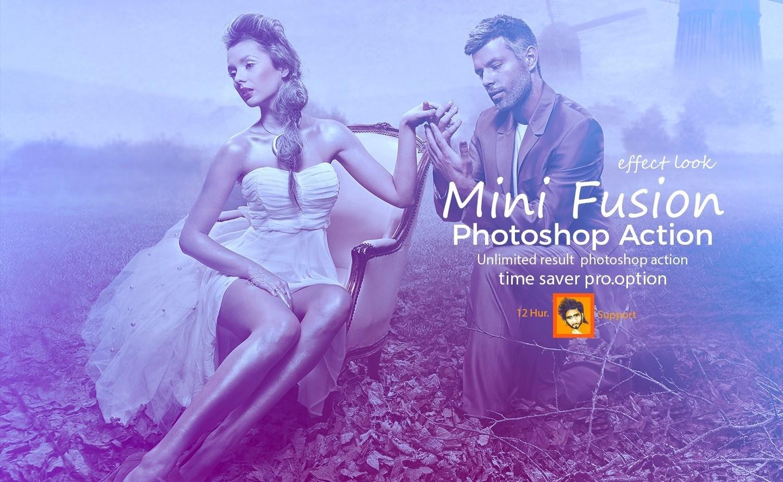 Mini Fusion Photoshop Action