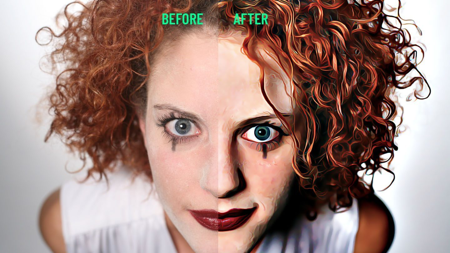 Realistic Painting Photoshop Action