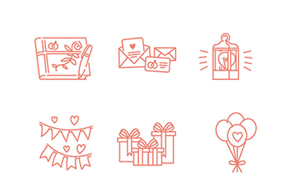 Free Wedding Icon Pack