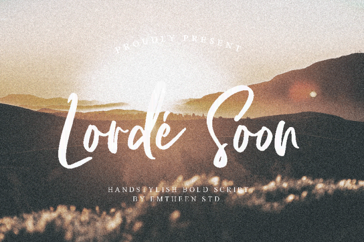 Lorde Soon Script Demo