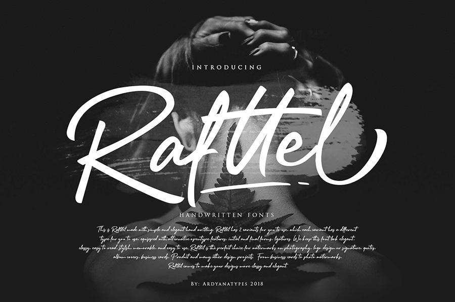 Rafftel Handlettering Script