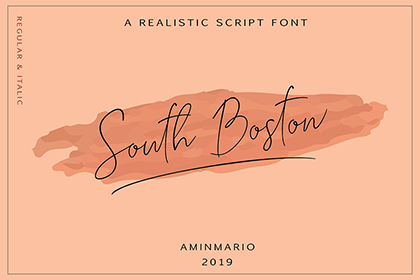 South Boston Script Free Demo