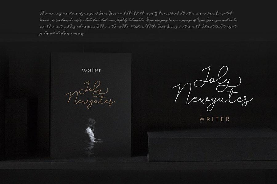 Adelya Handlettering Script