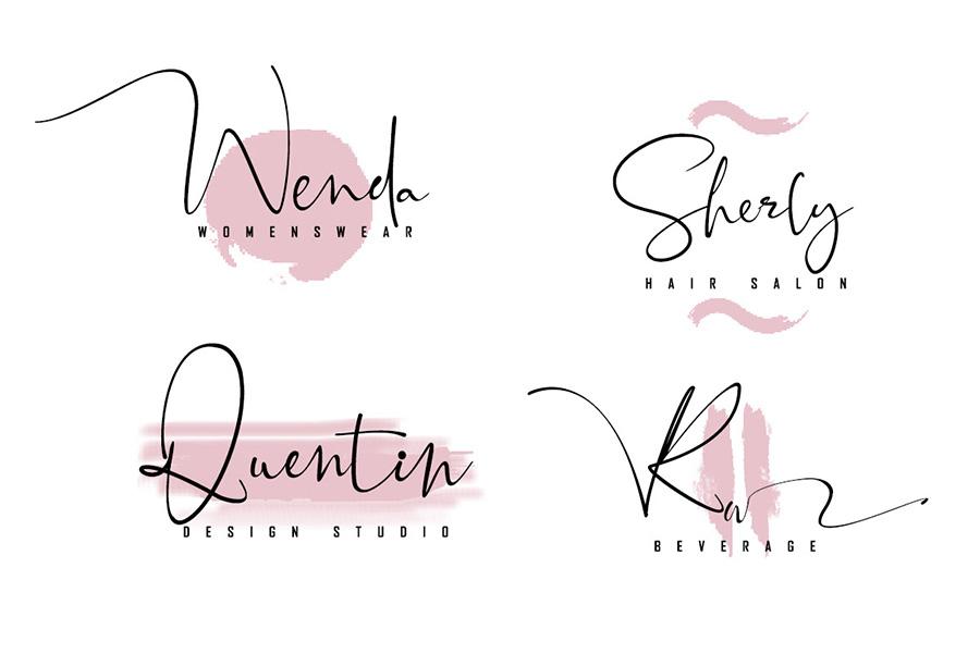 Black Pink Signature Script