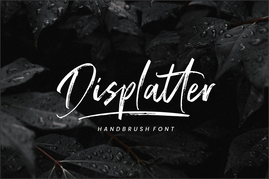 Displatter Handbrush Script