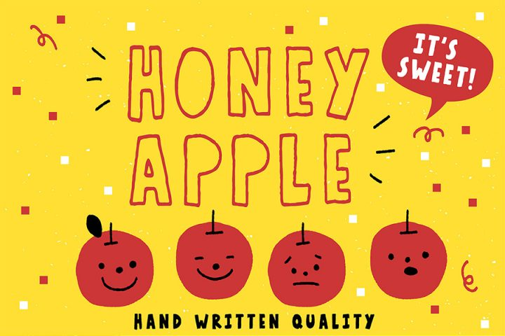 Honey Apple Juicy Free Font