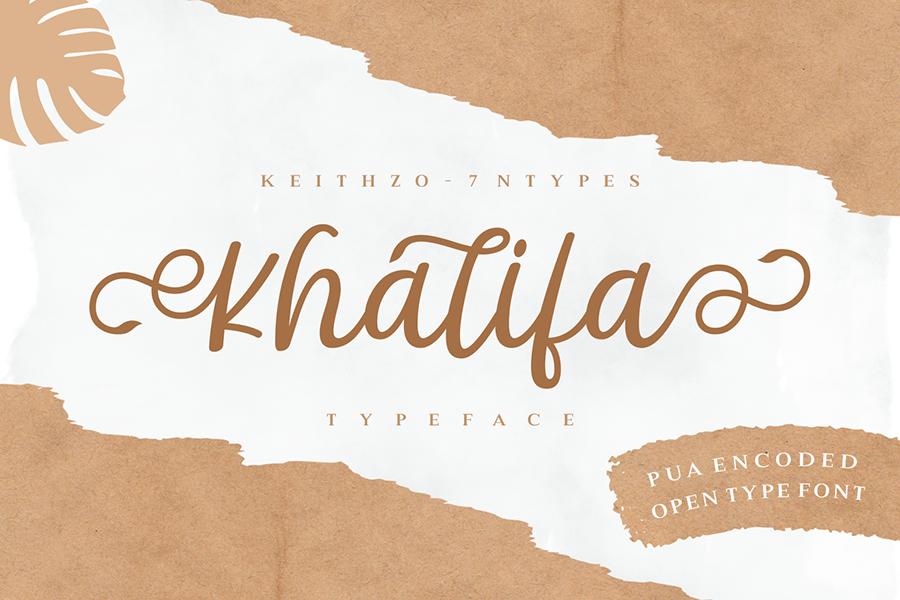 Khalifa Script Free Demo