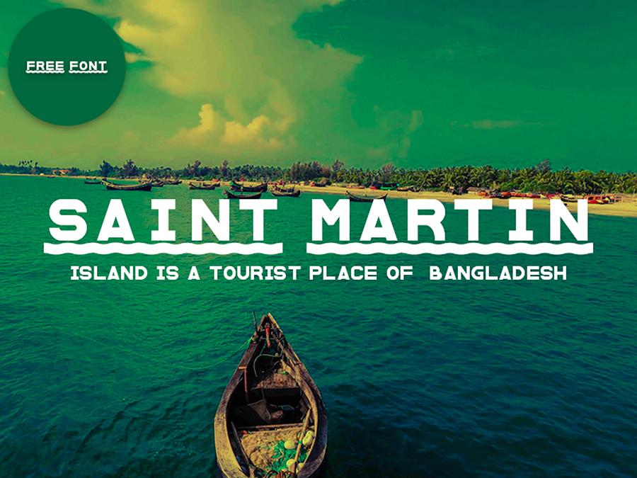 Saint Martin Sans Free Font