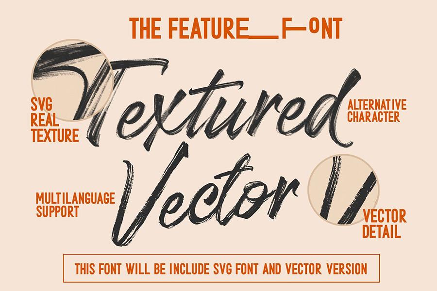 Stereohead Brush Lettering Font