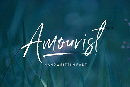 Amourist Handlettering Script