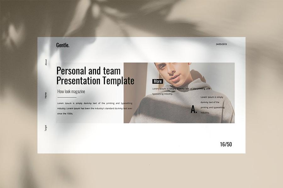 Gentle PowerPoint Template