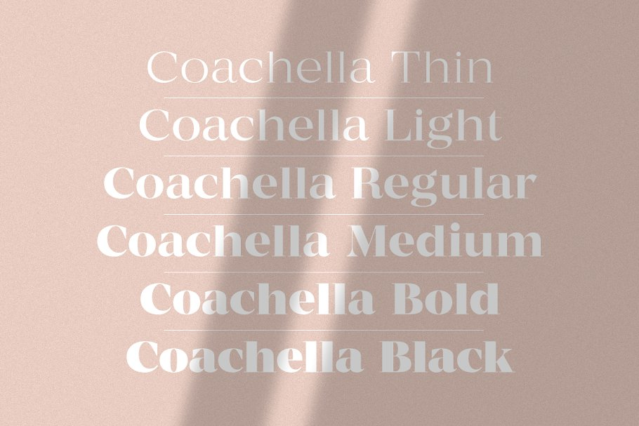 MADE Coachella Font Family
