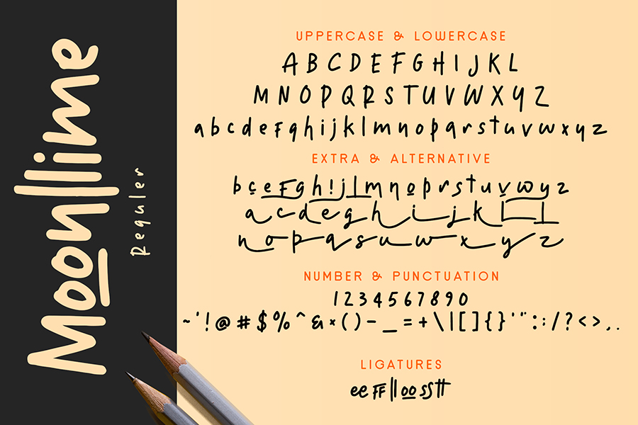Moonllime Free Font Demo