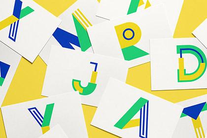 Metra Vector Letters Set