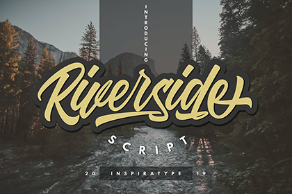Riverside Script Font Demo – Free Design Resources