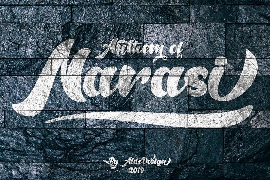 Anthem of Narasi Font Demo