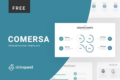 Comersa Free Presentation Template