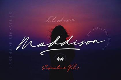 Maddison Signature Script