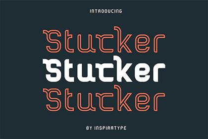 Stucker Display Font Demo