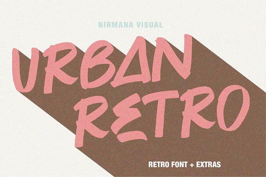Urban Retro Font Demo