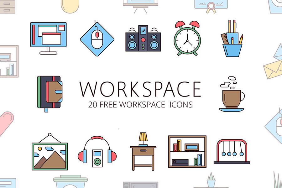 Workspace Vector Icon Pack