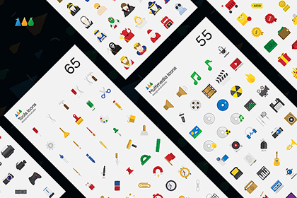 51 Essential Flat Vector Icons