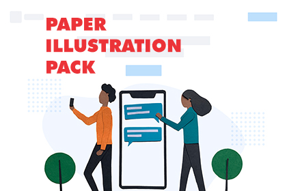 Free Paper Illustration Pack