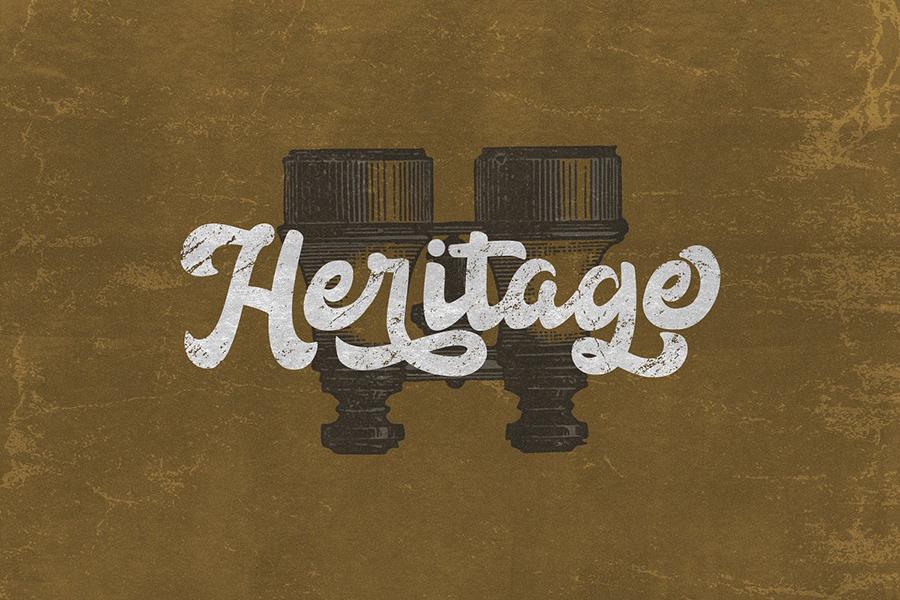 Anggada Vintage Script Demo