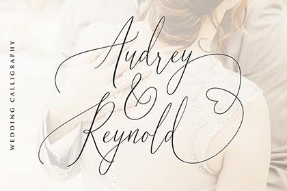 Audrey & Reynold Luxury Script