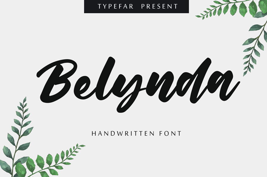 Belynda Script Free Font