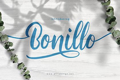 Bonillo Handlettering Script